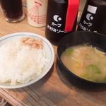 広島風お好み焼 ピックアップ - ランチお好み焼き 700円 700円のご飯と味噌汁 【 2013年3月 】