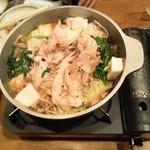 17666680 - 鹿児島産豚鍋