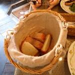 ヨッテリアコゴミ - パン