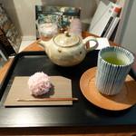 ゼンカフェ - きんとん・緑茶(玉露)