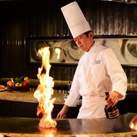 匠 - 料理長田口仁がセレクトした特選の食材を匠の技で仕上げるライブ感ある鉄板焼