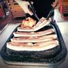 Boo豚 - 料理写真:★サムギョプサルはなんと15種類の味が楽しめる★