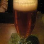 コーヒーエン - ロンドンプライドビール。独特の甘みがあり、奥深いホップの味が爽快