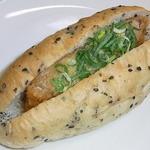 みもすパン工房 - 京風味噌かつドッグ♪ ¥189 白味噌使用♪