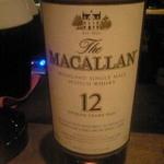 コーヒーエン - ムードにつられて普段は飲まないウィスキーを注文。「スタンダードなのを」というと持ってきてくれたマッカラン12年