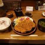 17672711 - とんかつ定食・大 ¥1560
