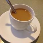 吟寿司 - 食後のコーヒー