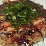 ふく福 - 広島焼き豚玉のアップ