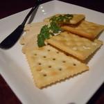 サリール - 自家製チーズの味噌漬け