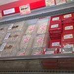 OK牧場直売店 - 内観写真:豚肉のぎょうざは、あっさりとしています。