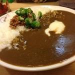 ゆうきのカレー - 日替わりカレー(納豆とオクラのカレー)