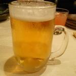 菜々海 - まずはおビールで乾杯♪