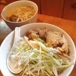 味噌麺 高樋兄弟 - 『辛みそネギチャーシューつけ麺』