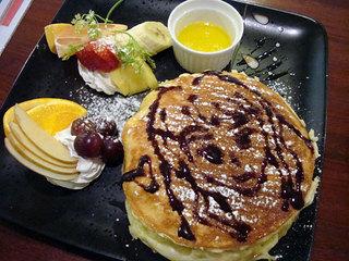 エタニティーメイデン - でざーとパンケーキ900円、メイドからのイベント付き