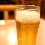秋田比内や - ビール