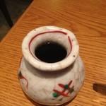 郷林坊 - 大盛りだからか汁がもう一杯出てきた。これは嬉しい!