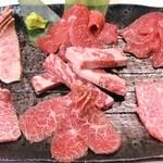 焼肉 醍醐 - 料理写真:お得な盛合せ匠7種