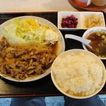 美華大飯店 - 牛焼肉定食