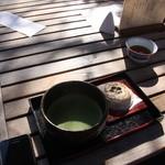 不老栄屋 - お抹茶セット500円