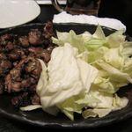 アジト - 地鶏の炙り炭火焼き