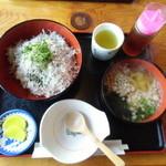 活漁レストラン藤 - ちりめん丼