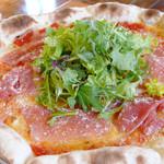 レストラン トロアの森 - 料理写真:くるっと巻いて食べれば、外パリパリ中もちもちの新感覚ピッツァ。テイクアウトもOK★