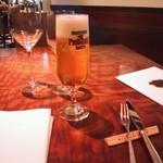 キッチャーノ - まずはビール