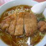 松園 - 排骨麺(醤油)