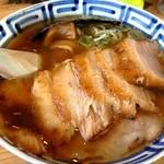 17689882 - 中華そば+トロ肉チャーシュー