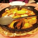 スペイン料理銀座エスペロ みゆき通り店 - パエリア