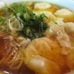 維新 - ワンタン麺アップ