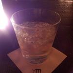 BAR ym - バーボン、クラッシュアイスで頂きます。