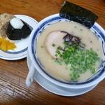 うりんぼ - ランチの「おにぎりセット」(750円)