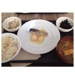和カフェ yusoshi chano-ma - お魚のランチ