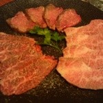17696314 - 塩焼肉三品盛 (タン・カルビ・ハラミ)