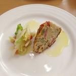 ヴェルデ・レガーロ - 温野菜とキッシュ
