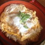 金比羅うどん - カツ丼