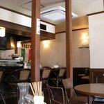 manma cafe - 店内の様子