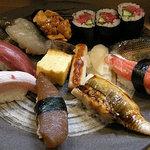 竹はる - 寿司盛合せ
