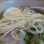 ひふみ - 麺は中太ストレート麺