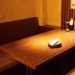 キムカツ - 奥には、半個室席もある…(^o^)丿