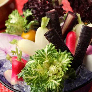 こだわりの産地からフレッシュな有機野菜をご用意!