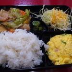 友園 - 八宝菜定食750円