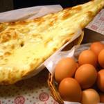 JAY - こだわり卵で作った『こだわりナン』 ぜひ、ご賞味下さい!