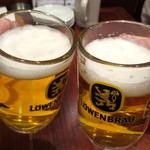 欧風バル バーデンバーデン - レーベンブロイで乾杯♪