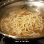 麺屋酒家 鉄風 - 〆の太麺