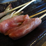 勝手にしやがれ - 豚串(揚げる前)