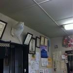 手打うどん 小島屋 - 店内も歴史を感じます…