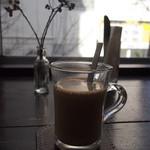 トリトンカフェ - セットのカフェオレ