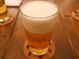 ベースキャンプ - 「生ビール」です
